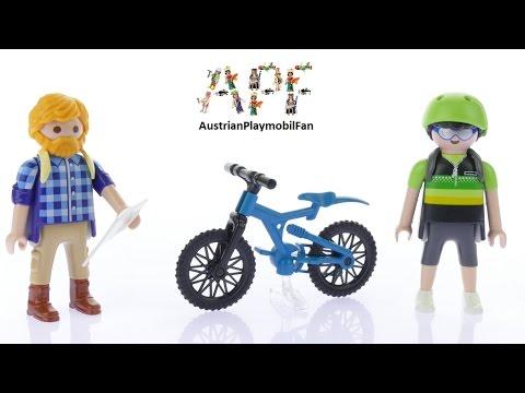 Vidéo PLAYMOBIL Action 9129 : Randonneur et cycliste