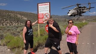 Storming Area 51 FOR REAL! Chased By BLACK HAWK HELICOPTER Storming Area 51 Gone Wrong Storm Area 51