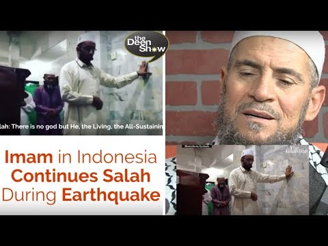 REACTION To Muslim Imam 🕋praying During Shocking Earthquake