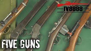 Top 5 Antique Rifles