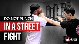 Do Not Punch In A Street Fight - Bruce Lee's Jeet Kune Do