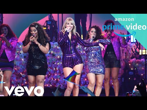 Taylor Swift You Need To Calm Down 1080 Hd Live Amazon Prime Concert 2019