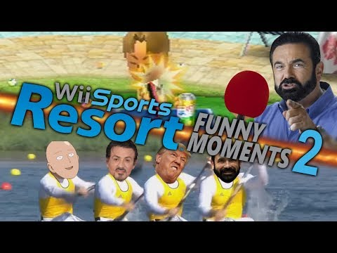OLYMPIC ROWERS - Wii Sports Resort Funny Moments (Part 2)