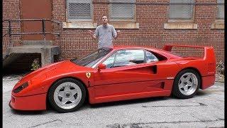 Вот почему Ferrari F40 стоит $1 300 000