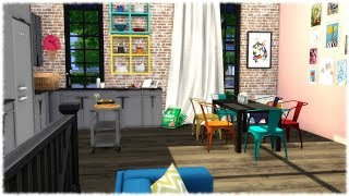 The Sims 4: Speed Build // MEWS HOUSE + CC Links