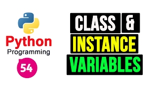 Python Programming Tutorial - Class and Instance Variables