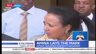 Sports Cabinet Secretary Amina Mohammed now focuses on upgrading facilities across the country