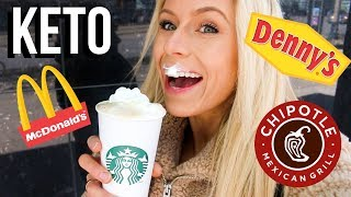 I Ate ONLY Keto Fast Food | Keltie O'Connor