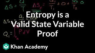 Proof: S (or Entropy) is a valid state variable