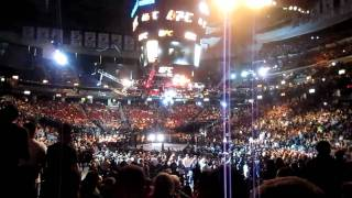 UFC 128 - OPENING MONTAGE BEFORE THEY GO LIVE IN THE ARENA