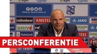 Persconferentie sc Heerenveen - Feyenoord
