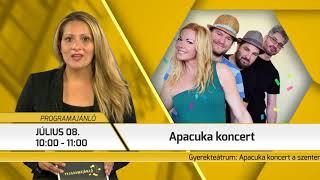 Programajánló / TV Szentendre / 2018.07.05.