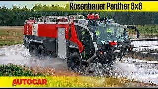 Rosenbauer Panther 6x6 Fire Truck | Feature | Autocar India