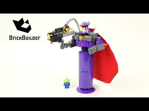 Vidéo LEGO Toy Story 7591 : Figurine Zorg à construire