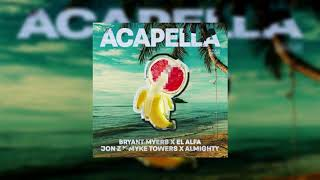 Bryant Myers ft. El Alfa, Jon Z, Myke Towers, Almighty - Acapella (Bass Boosted)