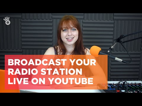 Broadcast your Radio Station live on YouTube 🎥
