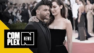 The Weeknd and Bella Hadid Partied Together at Kylie Jenner's 21st Birthday