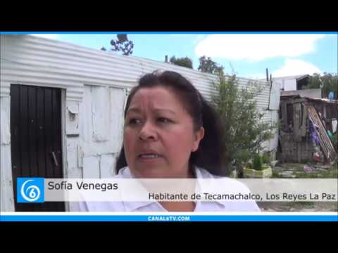 Falta de luminarias y seguridad en Tecamachalco, La Paz, incrementa el índice delictivo