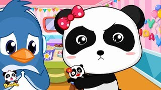 Rudolph's Birthday Gift to Panda Miumiu | Kids Good Habits | BabyBus Cartoon