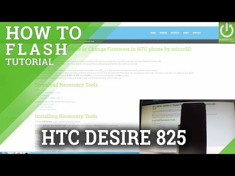 HTC Desire 826 firmware flashing tutorial - смотреть онлайн