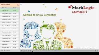 Getting to Know MarkLogic Semantics