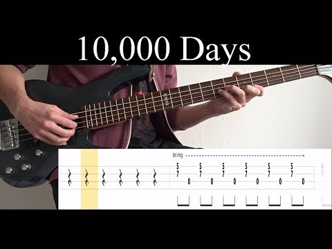 10,000 Days Wings Pt.2 (Tool) - Bass Cover (With Tabs) by Leo Düzey