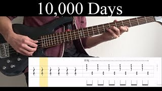 10,000 Days Wings Pt.2 (Tool)   Bass Cover (With Tabs) By Leo Düzey