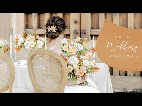 2018 Wedding Trends, Colors and Decor - Spring, Summer, Fall, Winter