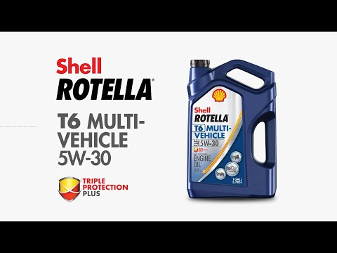 Shell Rotella Engine Oil T6-MV 5W-30