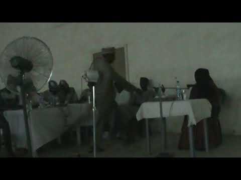 Hafsat Aminu's Tangeem recitation@MSSN UDUS Musabaqah 2017