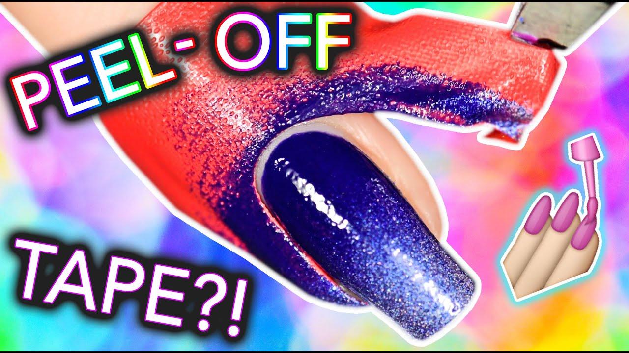 Peel-off tape for nail art: LATEX-FREE?! thumbnail