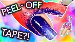 Peel-off tape for nail art: LATEX-FREE?!