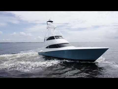 Viking 72 Enclosed Bridge video
