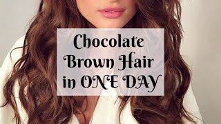 Chocolate Brown Hair Strong Affirmations