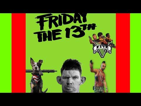 Самое смешное в играх #2(feat. Мс Боров) Far Cry 5, GTA5, Friday the 13th.