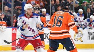 Brendan Lemieux's Gordie Howe Hat Trick | New York Rangers Morning Minute