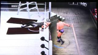 SvR 2011 E3: 2 New Gameplay Videos