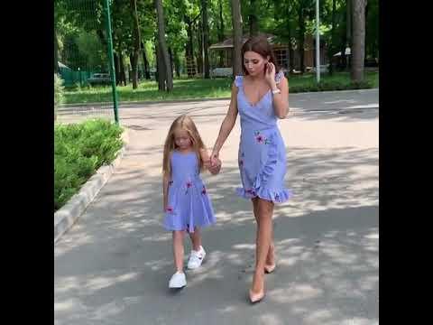 Ты и твоя малышка можете одеть одинаковые сарафаны и быть в центре внимания где угодно) Modnica-shop