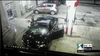 RAW VIDEO Surveillance Camera Shows Shootout At Atlanta Gas Station