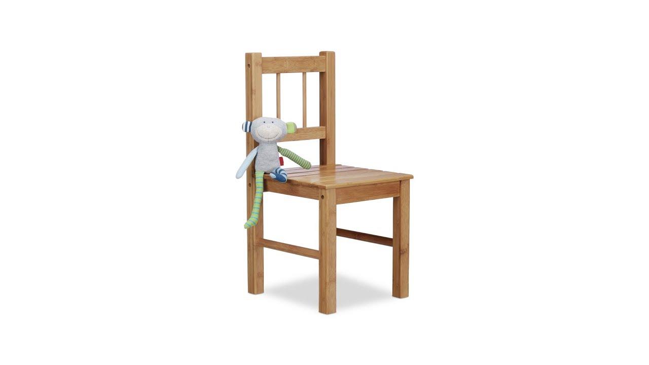 Deko stuhl aus bambus kleiner kinderstuhl kaufen for Stuhl deko garten