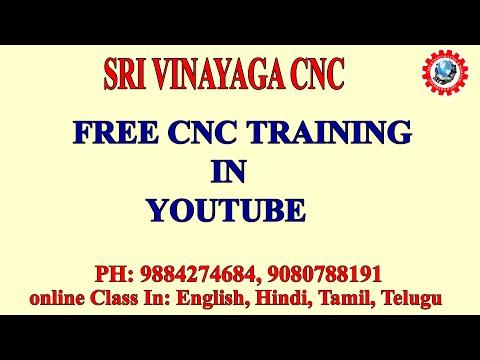Free Cnc Training Online - Free Cnc Programming Training In Tamil ...