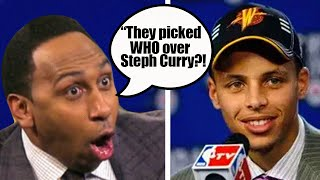 How Did 6 Players Get Drafted Ahead of Golden State Warriors Star Steph Curry?
