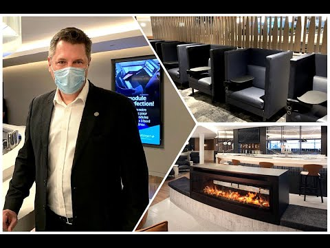 WestJet's Elevation Lounge at Calgary International Airport (YYC)