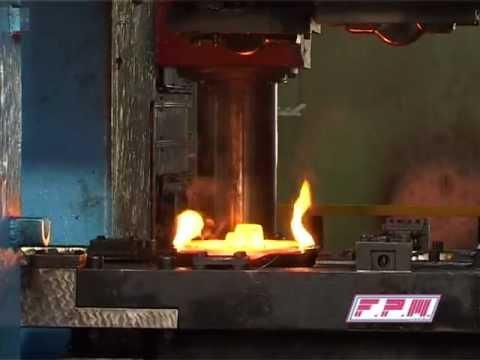 Sumitomo TFPA 5000 ton prensa para estampación acero en caliente