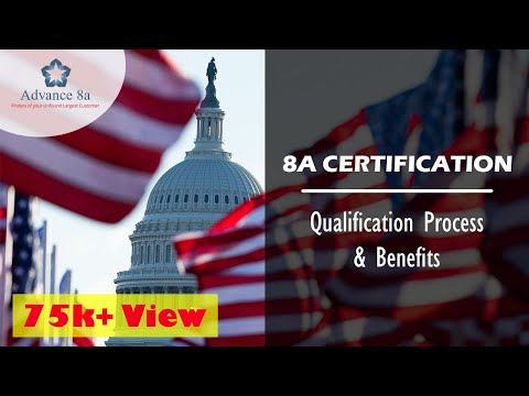 The Qualification Requirement for Obtaining 8a Certification ...