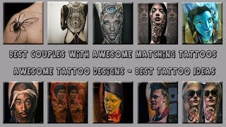 Best Couples With Awesome Matching Tattoos - Awesome Tattoo Designs - Best Tattoo Ideas