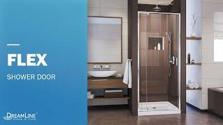 Watch Flex Pivot Shower Door