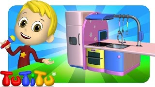 TuTiTu Songs Channel | Kitchen | Sing Along For Kids
