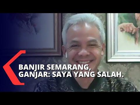 Banjir Semarang, Ganjar Pranowo: Saya yang Salah