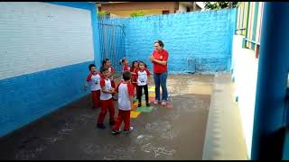 """Professora Silvane desenvolve atividade """"Eu aprendo brincando"""" com alunos da  CMEI Maria d"""